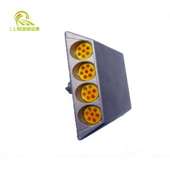 IP68 Allunimium Metal Solar Road Stud
