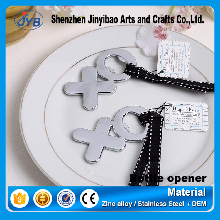 Manufacturers supply Continental married in return gift Creative XO beer open bottle XO Opener Wedding supplies