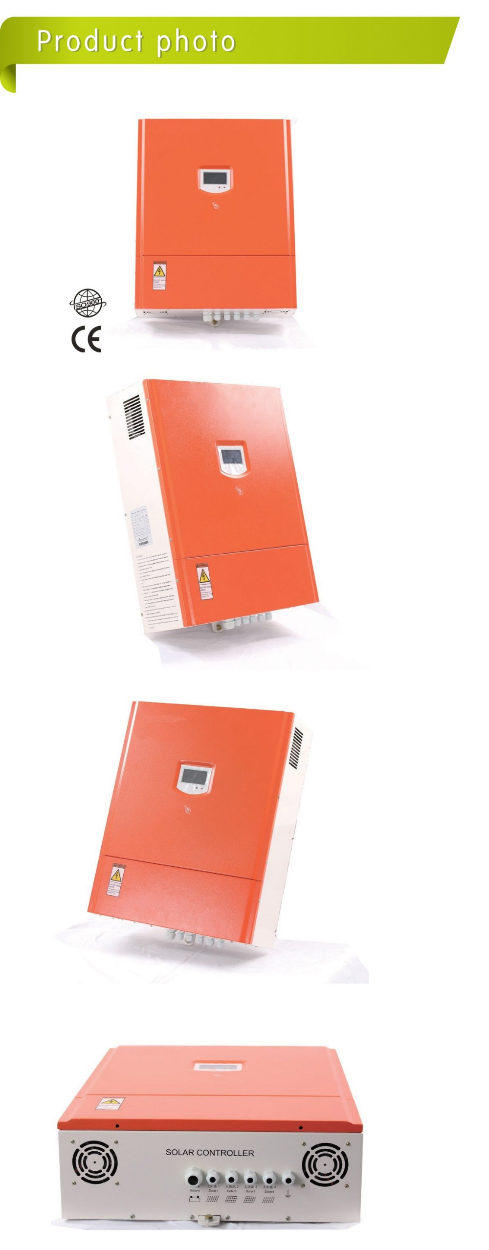 96V 30A/50A/100A/200A Factory Price top Quality Mppt Solar Charge Controller