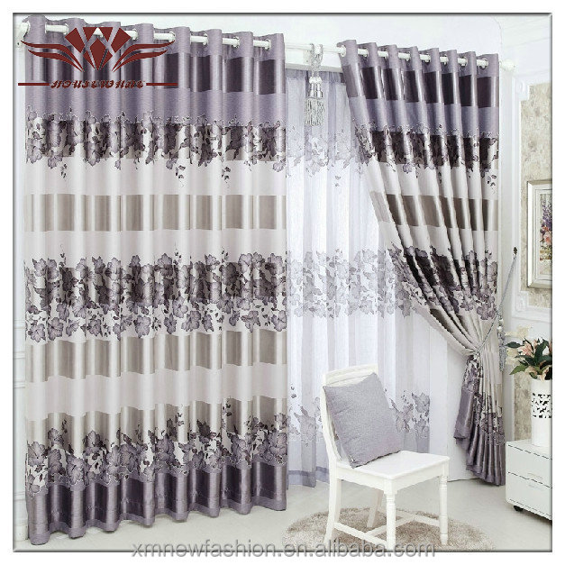 Stock Curtain,100% Polyester Classical Jacquard Curtain,cortina de espaguetis