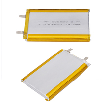 Advanced technology 3.7v lipo ultra thin lithium li-ion polymer battery