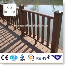 2016 wood composite Easily Assembled fence gate for exterior garden pool fence