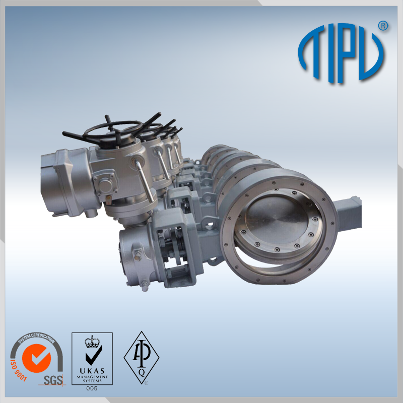Gear Best Price butterfly valves with pneumatic actuator