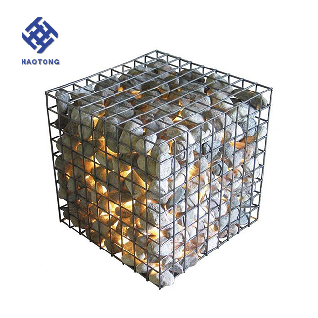 with best price River flood control galvanized gabion box stone cage