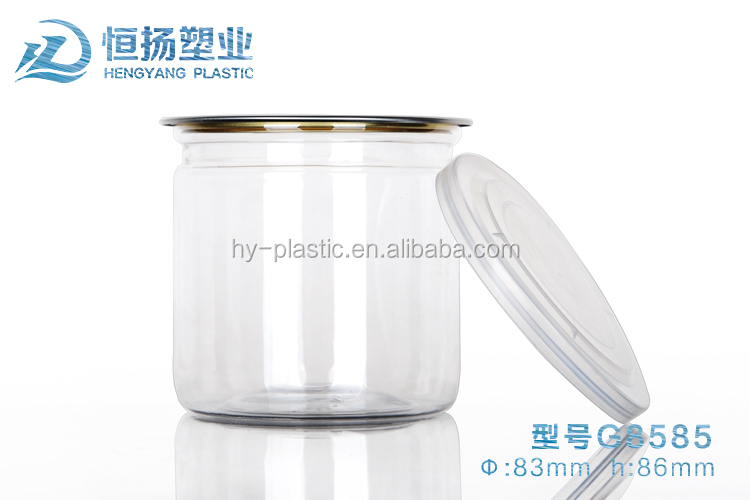 2016 Hot selling Plastic candy nut fruit packaging containers