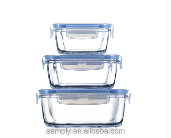Best price of easylock plastic food container 3 compartment
