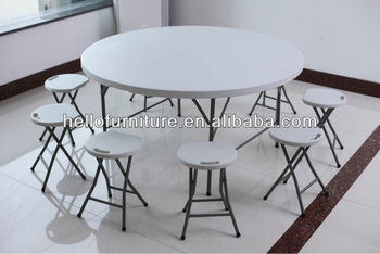 Granite White dining table, plastic dining table, model dining table