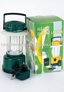 Hot selling of factory price 4 D battery floated camping lantern with ce approval