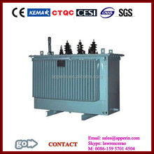 11kV Three-phase Full-sealed Distribution Transformer 220v 12v transformer