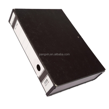 Alibaba Manufacturing Overlay Multi-function Box File Size A4 FC Simple Black Plastic File Box
