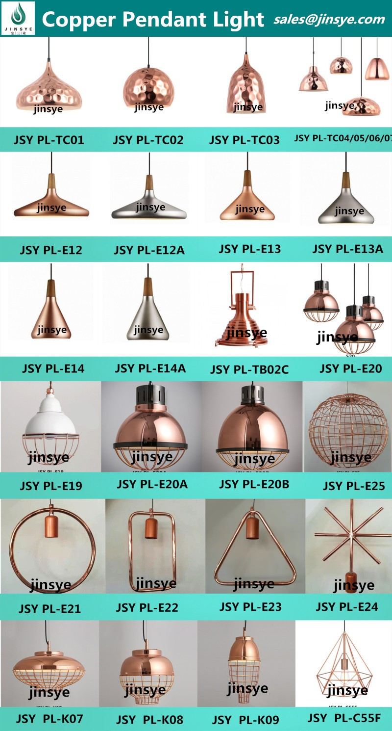 black/golden/copper tome dixon \ waterproof pendant light