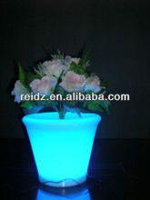 Modern design led vase,plastic flower pot trays