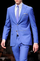 mtm custom suit , 2 piece latest design men suit, top brand coat pant men suit
