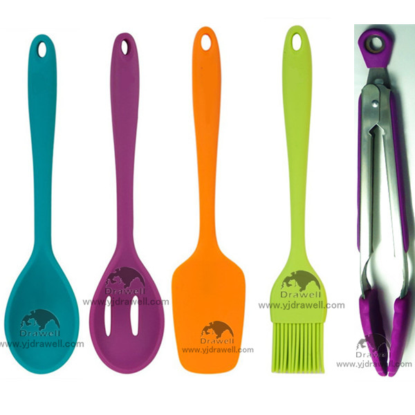 Sp 1091 colorful silicone kitchen utensils buy silicone for Colorful kitchen tools