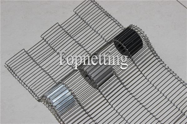 304 Stainless Steel Flat Flex Stainless Steel Wire Mesh Conveyor Belt