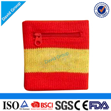 2017 Top Seller! Customized Logo Promotional terry sweatband/embroidery wristband/sport wristband