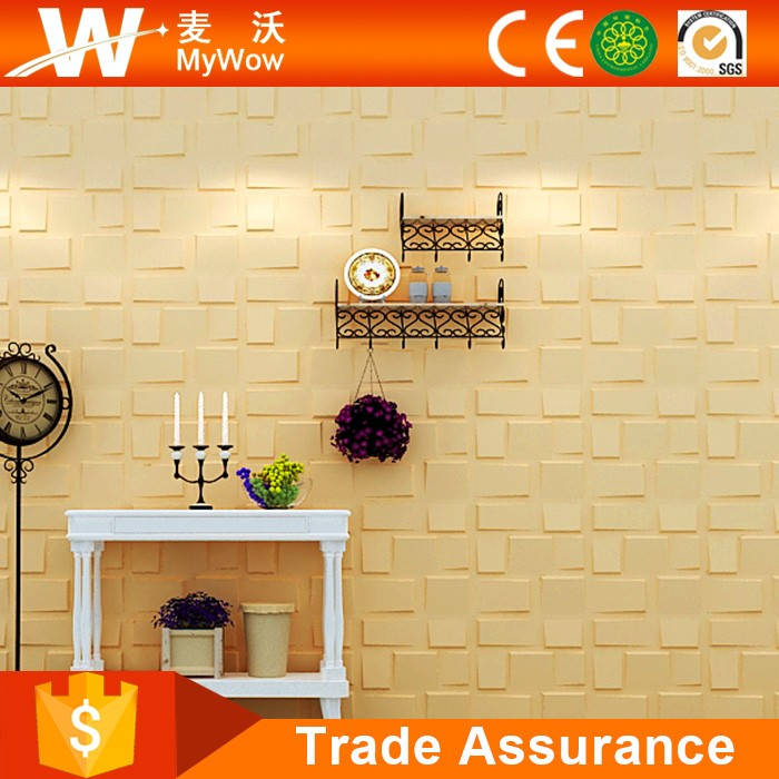 [WP-27] Sound-proof Elegant Interior Wall Decorative Panel 3D Wall Panel Bamboo