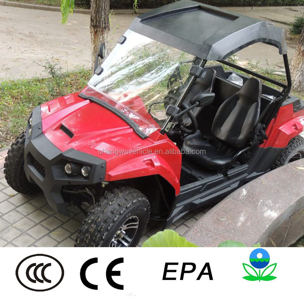 In top condition children 200cc 4x4 utility vehicle