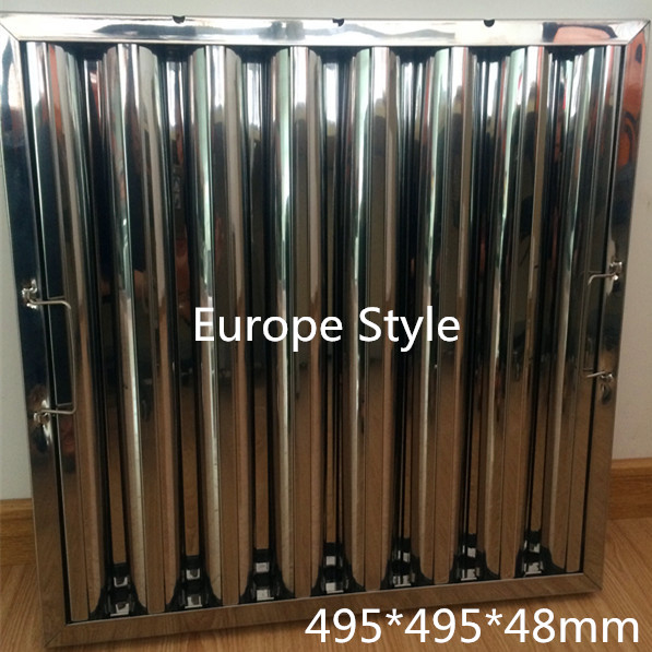 Stylish Hotsell Commercial Baffle Kitchen Grease Filter