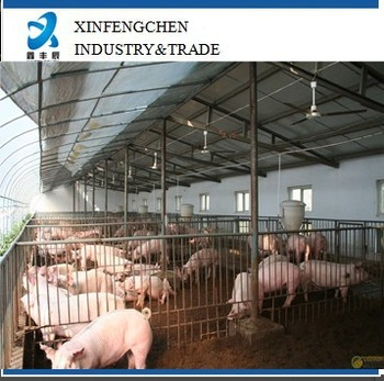 pig galvanized fence