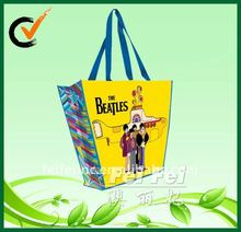Laminated gift shopping tote