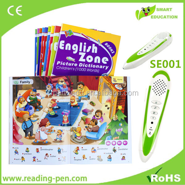 alibaba in russian talking pen to learning Russian English and Spanish