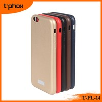 t-phox t-pl-14 PC&PU ultra thin leather mobile phone case/protective frame cover