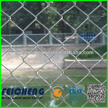 1 galvanized chain link fence mesh/galvanized chain link fenceing