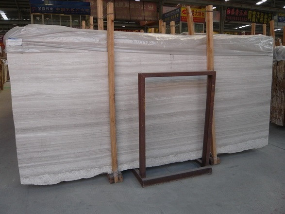 White Wood Line Marble Countertops, White Wood Grain Marble Vanity Tops, Island Tops