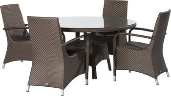 2017 Sigma discount all weather vogue rattan luxury french style dining room sets