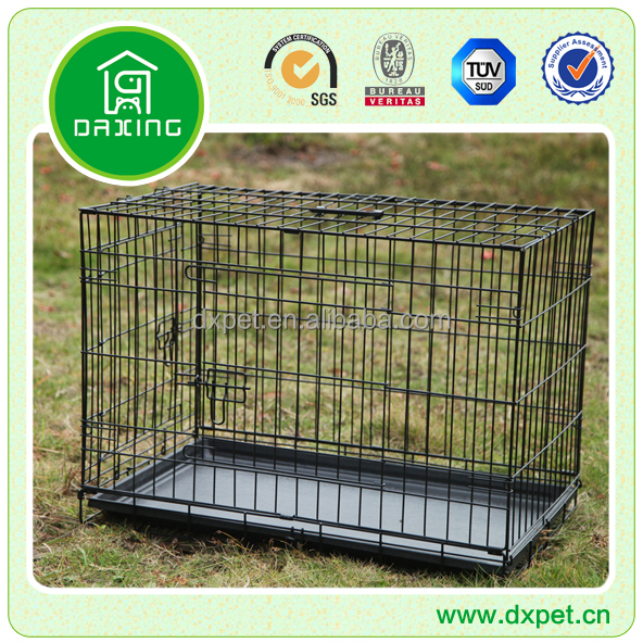 "DXW003 Large 30"" Collapsible Metal Pet Dog Puppy Cage"