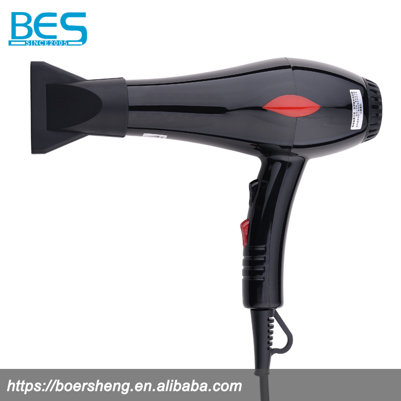 Electric plastic hair dryer with diffuser with high for Ac motor hair dryer