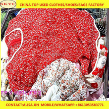 used clothes Qingdao cheap second hand clothing from China exported to West Africa Cameroon buyers