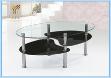 Glass Top Center Tea Table Design New Fashion Coffee Table