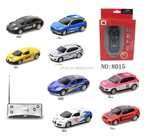 Cheap price Mini size 1:53 scale RC racing car with rechargeable controller RC car with headlight and backlight