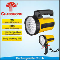 led flashlights rechargeable emergency torch light smd led lights