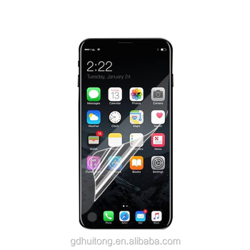 Premium TPU Screen Protector for iphone 8 Anti-bubble Full Cover for iphone 8 Flim