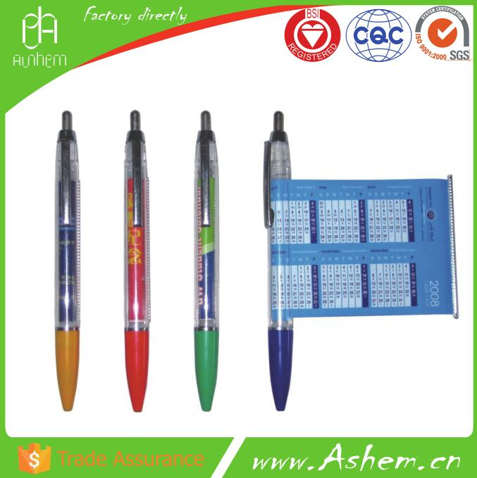 hot sell guangzhou promotion ad pen with cusomized design and free logo printing, DL733