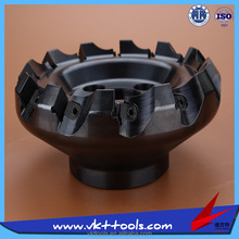 CNC Indexable 160 mm Face Milling Cutter -----MF45-160.12-SP15-C40-----VKT