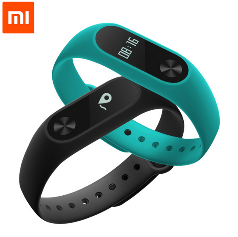 Original Xiaomi Mi Band2 Bluetooth 4.0 Smart Bracelet OEM Fitness Bracelet Tracker