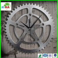 Metal gear wall clock wholesale
