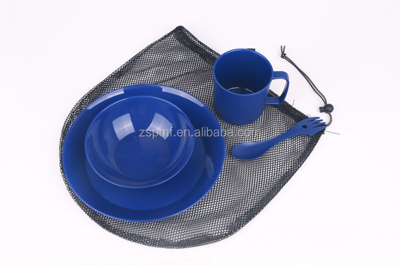 Outdoor plastic dinnerware set dinner set brilliant dinnerware set