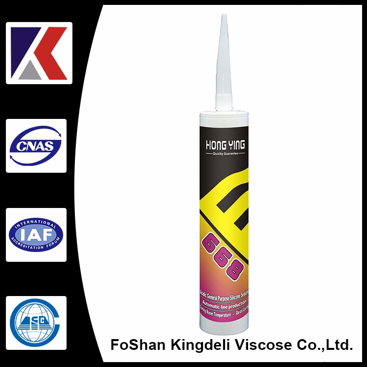 high quality acetic glass silicone sealant manufacturer