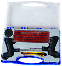 High qualilty Tire Repair Tool Kits with Plastic box