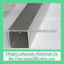 factory price customized aluminium square tube