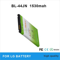 Replacement battery for mobile phone for LG Optimus P970 battery BL-44JN