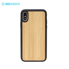 Natural bamboo custom wood design bamboo back cover for iphone X case original