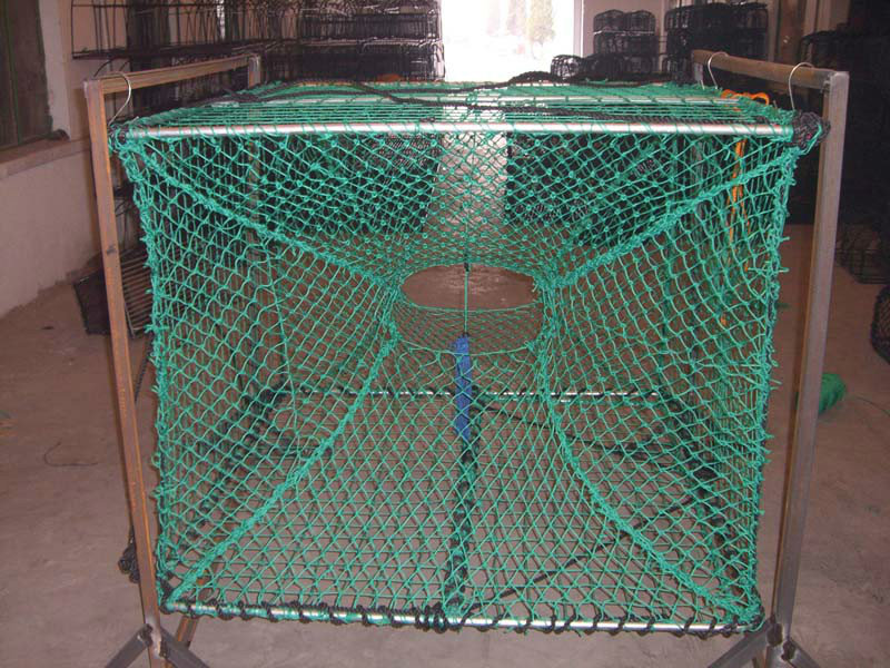 Lobster Trap/fish Trap For Sale - Buy Pvc-coated Steel Wire Frame Crab Traps,Metal Lobster Traps ...