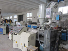 PP PE extension hose pipe extrusion line sink drain corrugation pipe machine