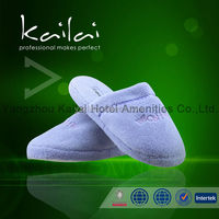 chinese hotel slipper wholesale/custom brand EVA terry disposable slipper/Famous Brand For Sale cotton disposable hotel slipper